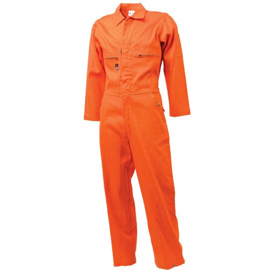 Flame Retardant Coverall - Orange