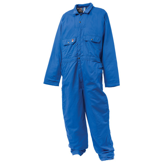 Flame Retardant Insulated Coveralls - Blue